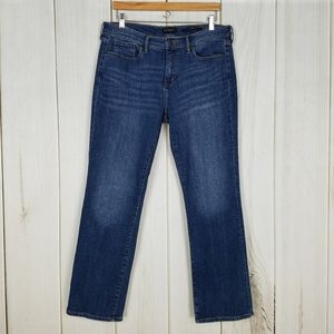 Banana Republic Girlfriend Straight Leg Jeans